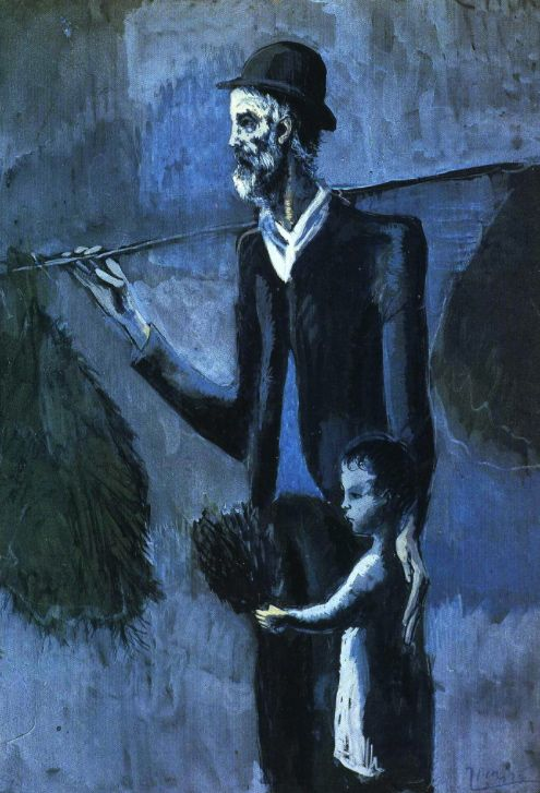 Pablo Picasso Blue Period Painting Pablo Picasso  : More At FOSTERGINGER At Pinterest ♍️Pablo Picasso,