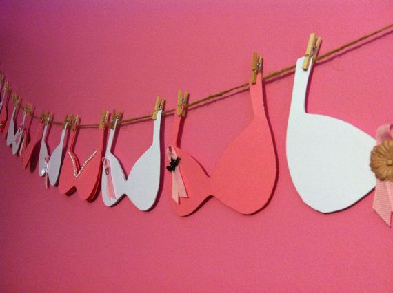 Breast Cancer Awareness Message Advice Banner on Etsy, $20.00