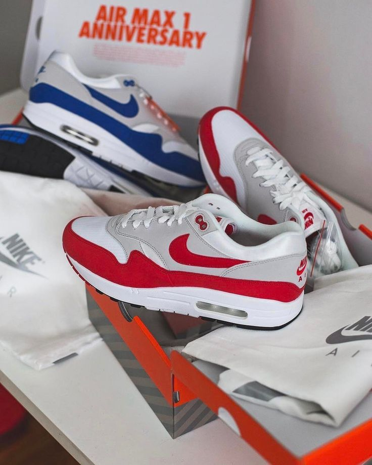 Nike Airmax 1 OGs • What colour do you like best • Love this shot from.  Addiction