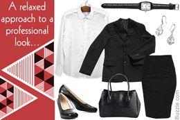 vestuário profissional para as mulheres