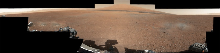 High Resolution photo from Curiosity (6000×1474).