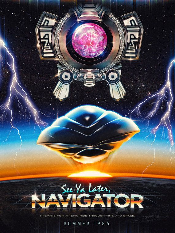 Flight of the Navigator Inspired Epic 80s Film by barrettbiggers