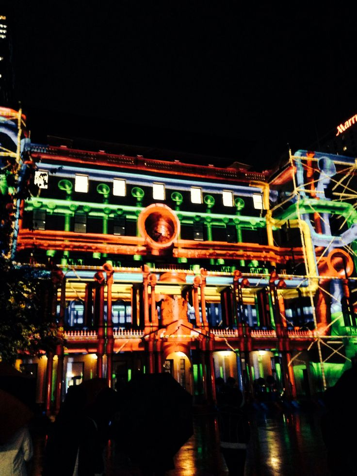 Vivid Live 2014 took more chromatic lights across Sydney then ever before.