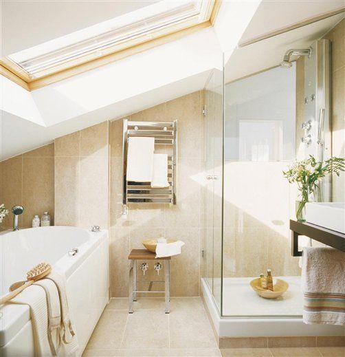 26 besten Bad Bilder auf Pinterest Badezimmer, Dachausbau und - moderne badrenovierung idee gestaltung