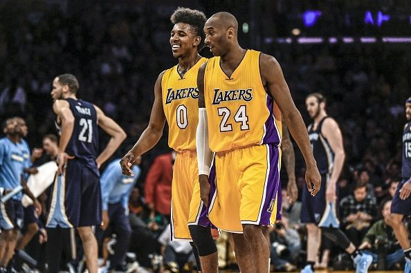 Before you all get crazy—Nick Young was obviously joking. We hope. #kobe Bryan #nickyoung