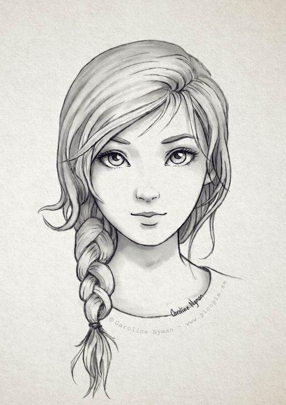 Рисовать картинки для девочек срисовывать, днем