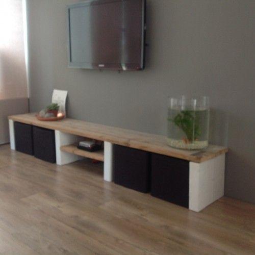 houten tv meubel houten televisie meubel