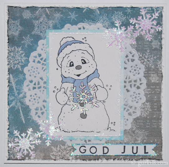 Jul med snögubbe :)