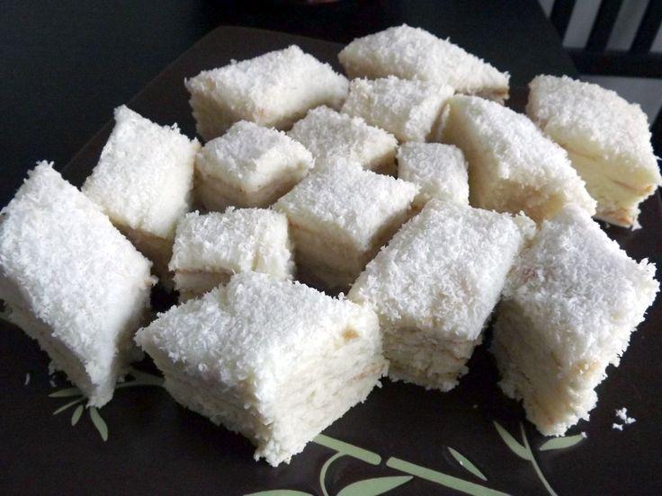 Prajitura Alba ca Zapada cu crema de cocos 2