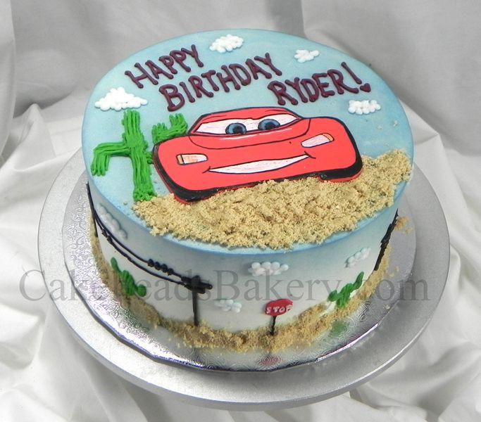 Ryder's Lightning McQueen Cake