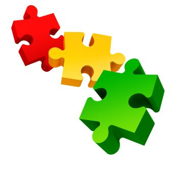 Une nouvelle activité réalisée par Sabine, pour travailler la construction de phrases simples (sujet-verbe-complément). Il s'agit de pièces de puzzle que l'on assemble pour former des phrases. Sabine les utilise en collant des photos de personnes sur...
