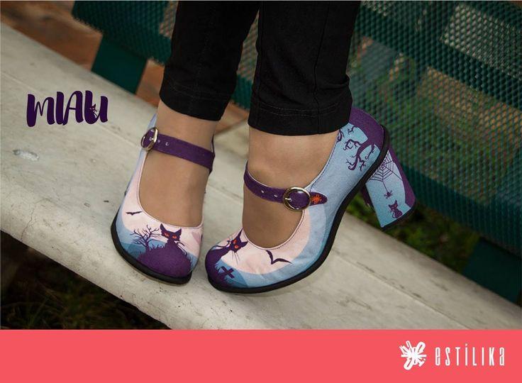 Te gustan nuestros zapatos de tacón Estilika? Miau, ahora puedes visitarnos en nuestro sitio https://www.facebook.com/estilika/   Estílika #mujer #tendencia #moda #zapatos #diseñoindependiente #talentocolombiano