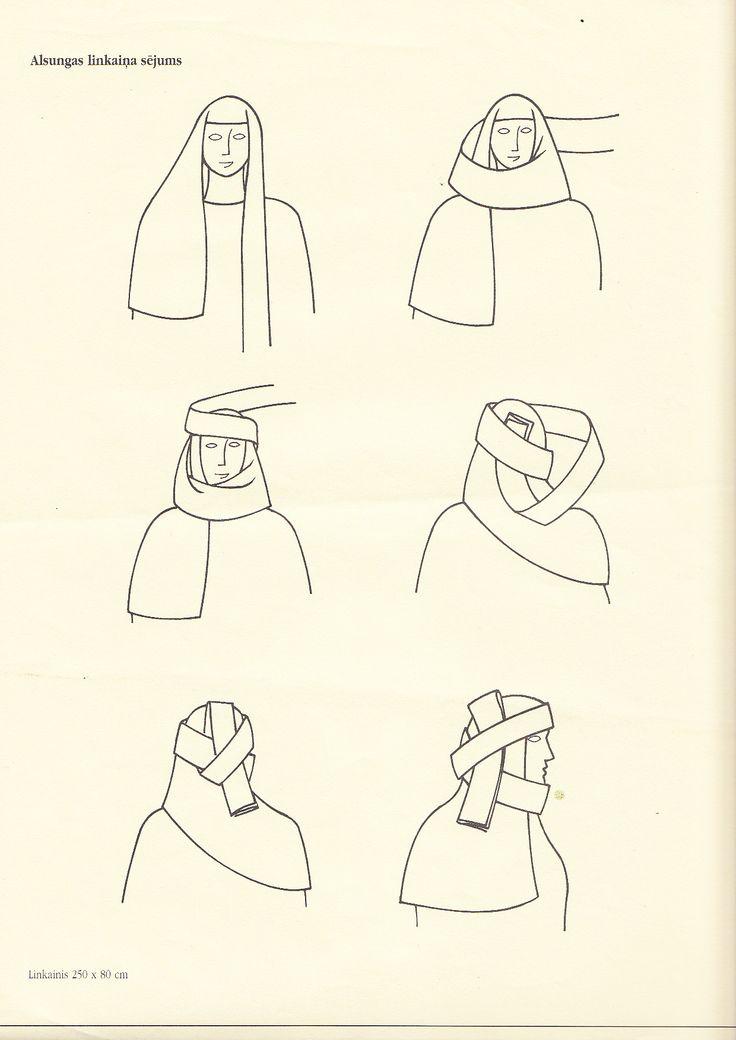 Alsunga headdress, Latvia