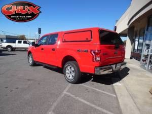 2015 FORD F150 WITH AN ARE V SERIES CAMPER SHELL AND A CARGOGLIDE FULLY EXTENDABLE BED ORGANIZER