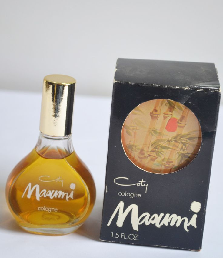 Coty Masumi Cologne - Shop QuirkyFinds.com | Vintage Perfumes ...