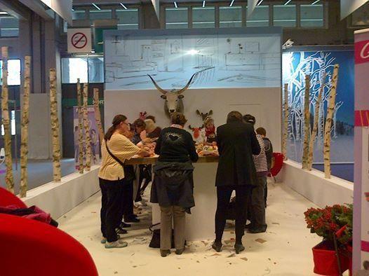 De ce trebuie să mergi la Târgul de toamnă din Paris - FOIRE D'AUTOMNE     Atelier creație felicitări și decorațiuni de Crăciun