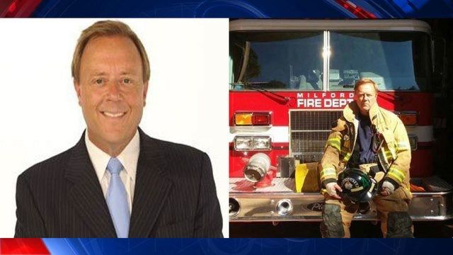 Detroit FOX 2 News Anchor and Reporter Ron Savage died suddenly yesterday. Ron was a volunteer Milford Firefighter and passed away at one of their events. I went to LCC with Ron back in 1981, great guy. R.I.P. Ron