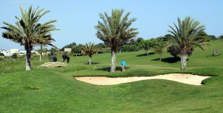 Golf course in Portugal, golfbaan in Portugal