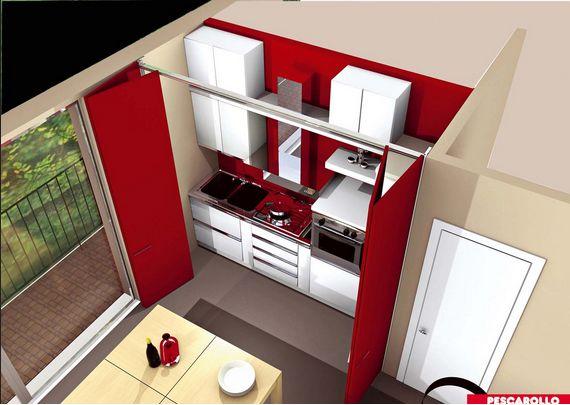 Pin by lur esc on hidden kitchen cocina oculta - Cocinas ocultas ...