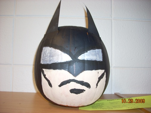 Batman pumpkin character