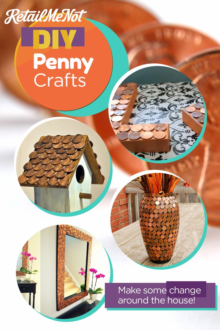 Invest your old pennies in these pretty projects.