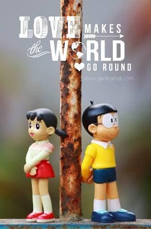 Image result for nobita shizuka quotes