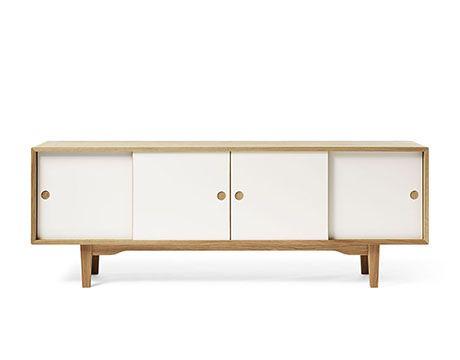 Zweed MOODI 180 Sideboard & Media cabinet in All White