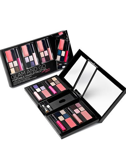 Glam and Go Portable Makeup Palette VS Makeup
