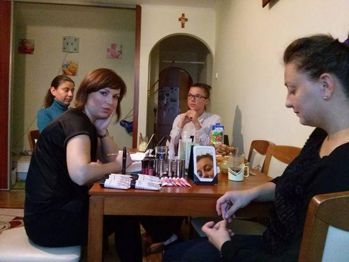 Nasze dzisiejsze spotkanie z Konsultantką Piękna- Paulina Wolańczyk - dziękuję było super:) #MaryKayPolska https://www.facebook.com/photo.php?fbid=722202747848828&set=o.145945315936&type=1