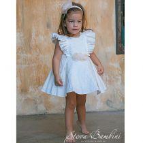 Βαπτιστικό Φόρεμα  Brocarde G2 της Stova Bambini