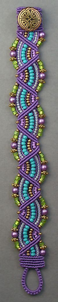 Micro-Macrame Jewelry kit Joan Babcock