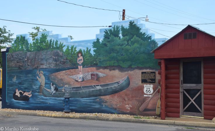 """in Cuba Missouri  """" Route 66 on My Mind """" Route 66 blog ; http://2441.blog54.fc2.com/ https://www.facebook.com/groups/529713950495809/ http://route66jp.info/"""