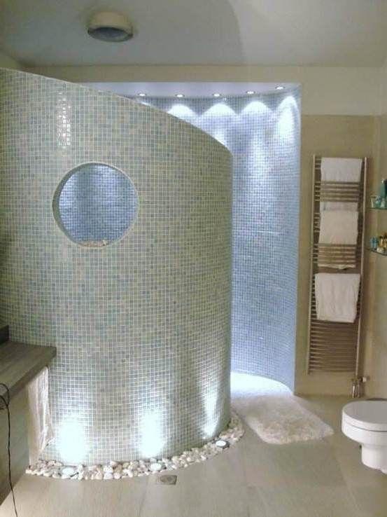 25 Best Walk Through Shower Ideas On Pinterest