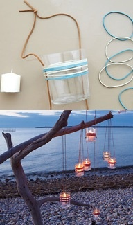 Check out our simple steps for creating your own glass lanterns at https://www.onekingslane.com/live-love-home/2012/07/glass-lanterns/