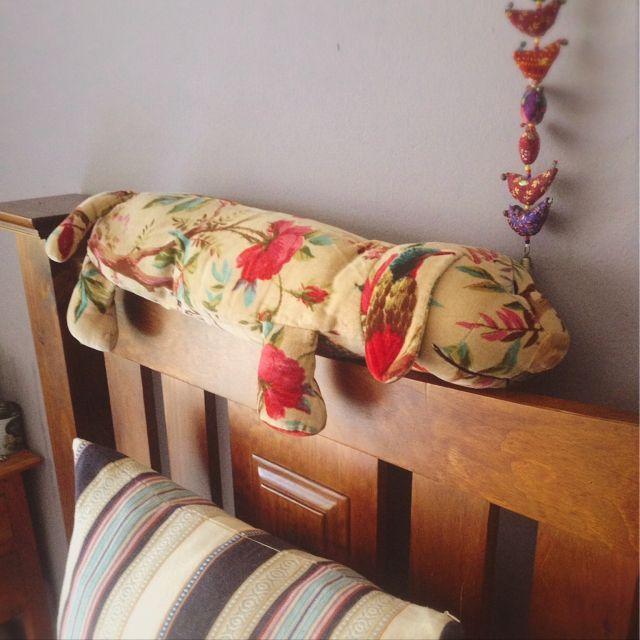 Spiceさんの、抱き枕,癒し犬,犬,寝るときハグ,ベッド周り,のお部屋写真