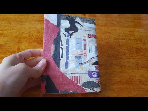 書店員が教えるお気に入りの紙でブックカバー - YouTube