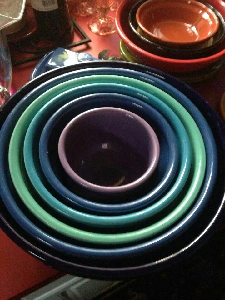 Fiesta® Dinnerware Bowl Set & 442 best Fiesta® / Homer Laughlin China: Bowls images on Pinterest ...