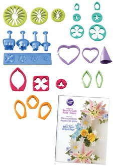 Gum Paste Flower Cutter Set 26 piece by Wilton