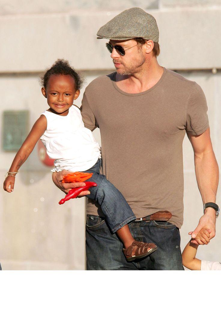 Celebrity Dads- Brad Pitt