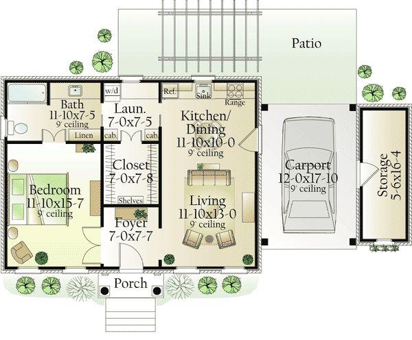 332 best House Plans images on Pinterest House blueprints, Small - copy garage blueprint maker