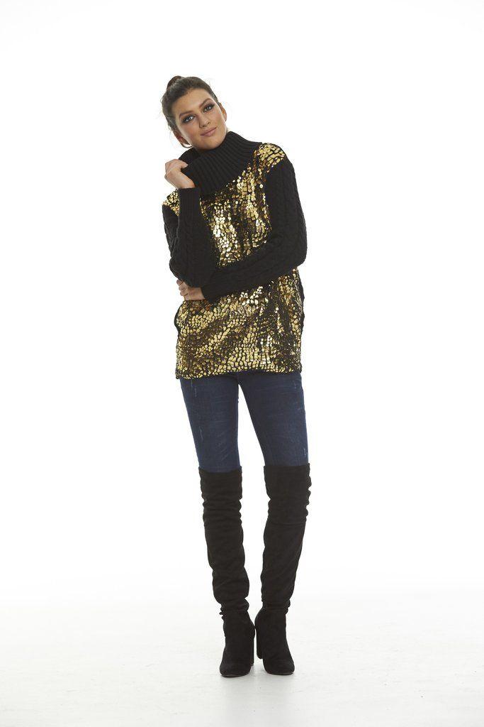 Augustine My Honey Golden Sweater