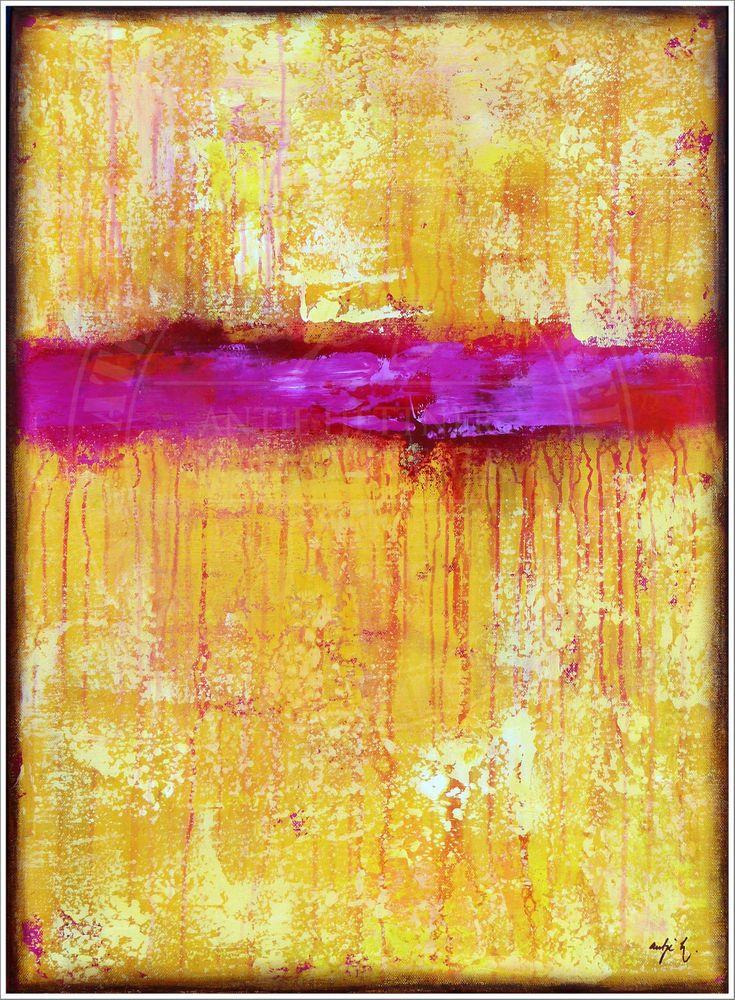 Antje hettner bild original kunst gem lde leinwand malerei abstrakt xxl acryl art at the - Leinwand malerei ...