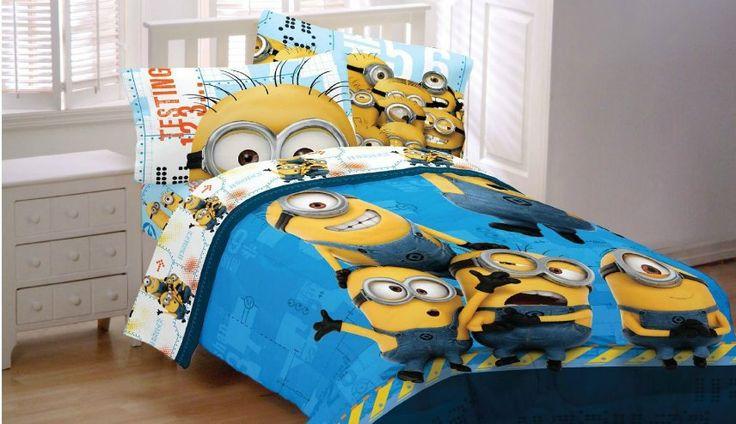 Minion Bedroom Decor Comforter