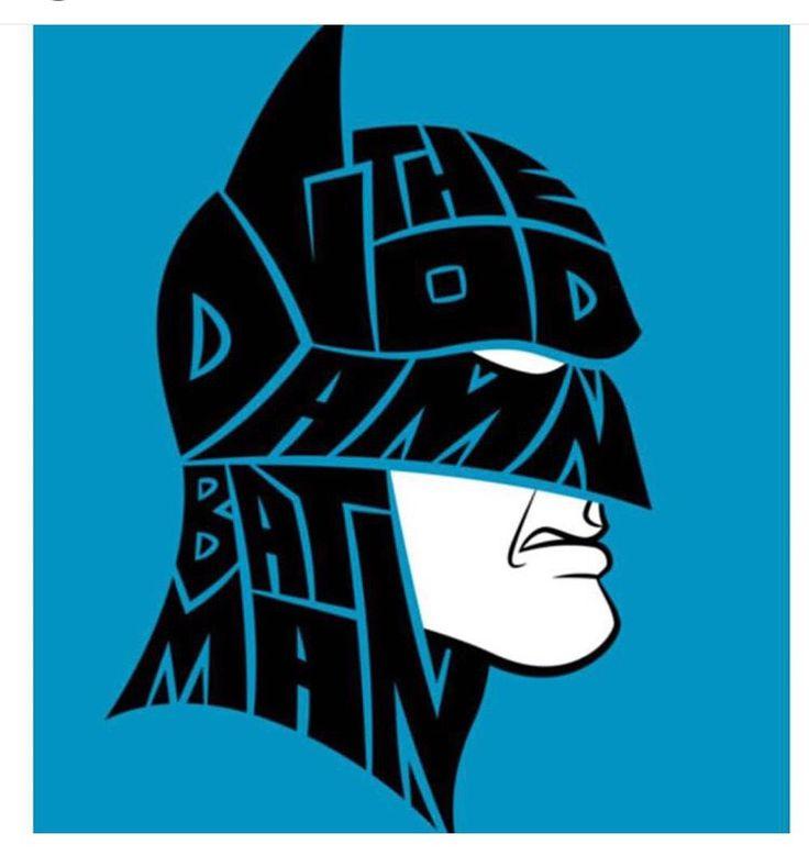 The god damn Batman