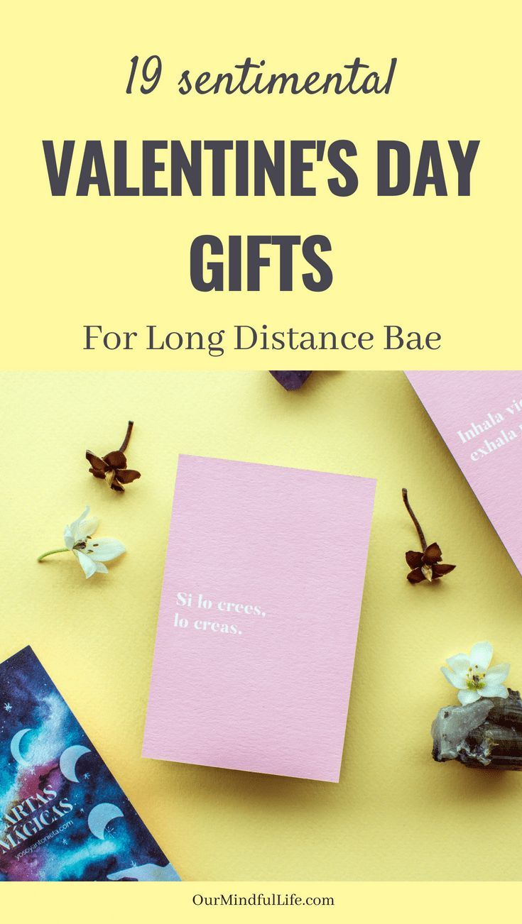 19 Thoughtful Valentine S Day Gifts That Your Long Distance