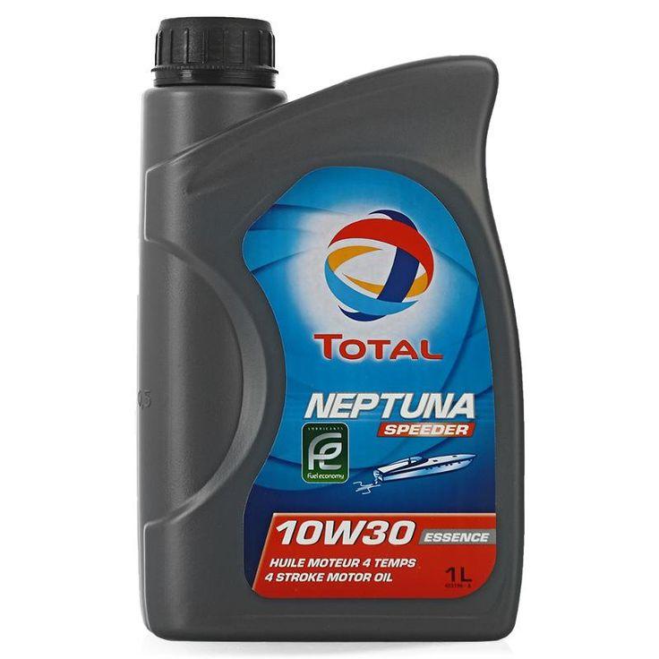 Моторное мото масло Total Neptuna Speeder 10w-30, 1 л, минеральное (166234)