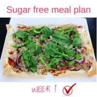 Sugar free meal plan Week 1