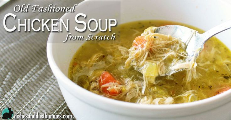 Tips for a Perfect Old Fashioned Chicken Soup from Scratch Before we get to the recipeat the bottom of the post, please take a look at these tips! 1. Making a homemade soup from scratch does take some time but the end result is totally worth it. It's not difficult at all to make and …