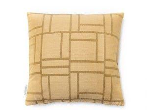 Cushion Piazza light gold 40x40 cm