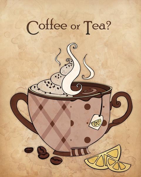 Coffee or Tea?  Coffee, definitely coffee!